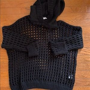 Express Don't Ask Why Mesh Hoodie